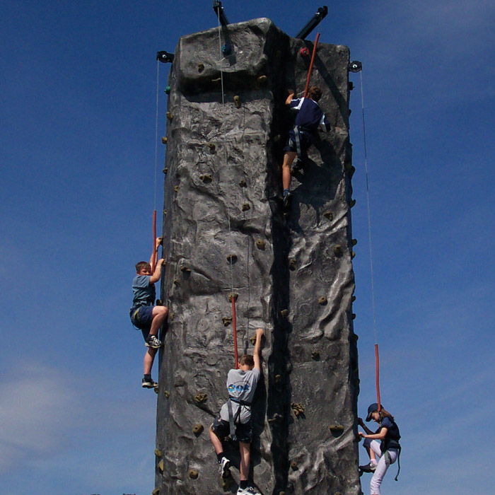 4 Person Mobile Climbing Wall