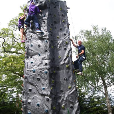 Mobile 4 Person Climbing Wall - Adults